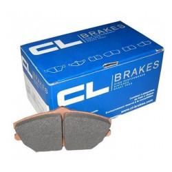 CL BRAKES RC6 Front Brake Pads for Fiat 500 Grande Punto or Peugeot 206 207