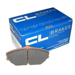 CL BRAKES RC6 Front Brake Pads for Peugeot 207 RC Rallye Asphalte or Renault Clio II 3.0 V6