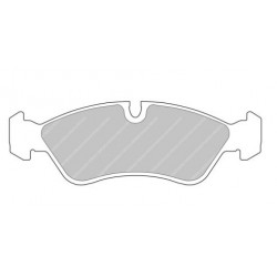 FERODO DS2500 Front Brake Pads for Opel Astra + Other Models
