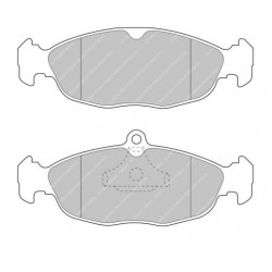 FERODO DS3000 Front Brake Pads for Opel Astra Corsa A/B Tigra Vectra