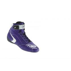 OMP First S FIA-skor Blå. Rallyskor för bästa stöd och känsla.