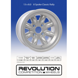 Revolution rally 8.0x13. Allt inom motorsport rally och racing.