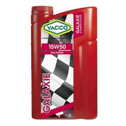 YACCO Galaxie 15W50 2L engine oil. - Competition