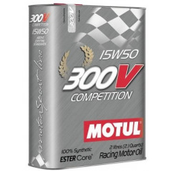 MOTUL 300V COMPETITION 15W50 2L engine oil