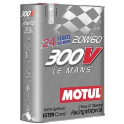MOTUL motor olja rally racing bilsport 300V LE MANS 20W60 2L engine oil