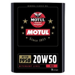 MOTUL Classic 20W50 2L engine oil