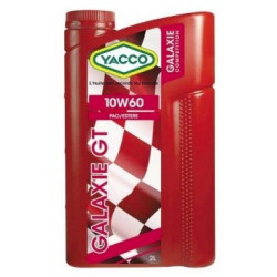 YACCO Galaxie GT 10W60 2L engine oil