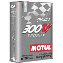 MOTUL 300V TROPHY 0W40 2L engine oil