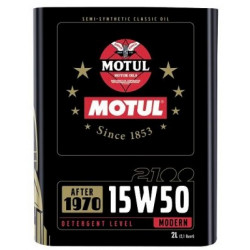 MOTUL Classic 15W50 2L engine oil. - Classic vehicles