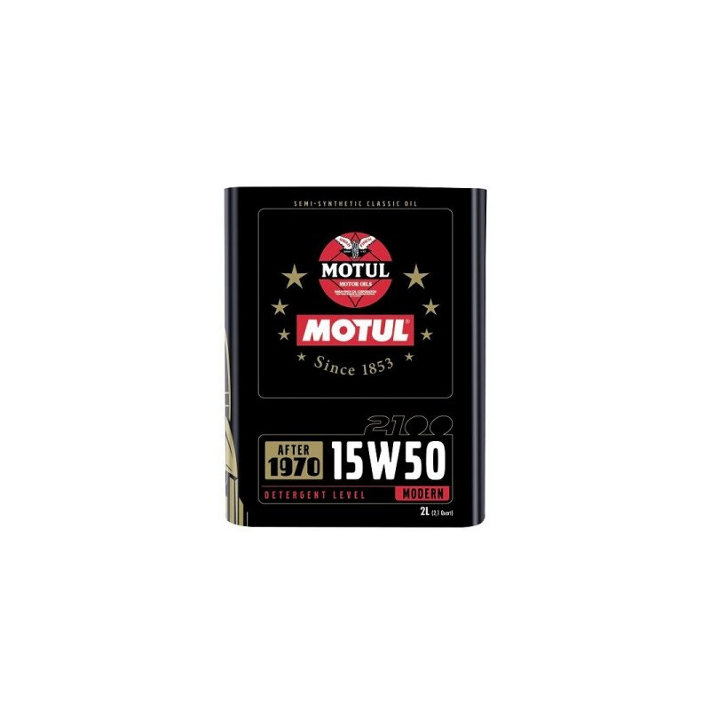 MOTUL Classic 15W50 2L engine oil. - Classic vehicles