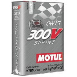 MOTUL 300V SPRINT 0W15 2L engine oil