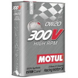 MOTUL 300V HIGH RPM 0W20 2L engine oil