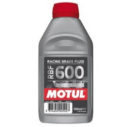 MOTUL RBF 600 DOT 4 Miscible Brake Fluid