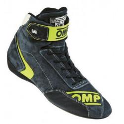 OMP First EVO FIA-skor Grå/Gul. Rallyskor för bästa stöd och känsla.