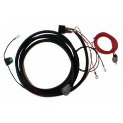 Single-lamp harness kit with switch (T-16, T-24)