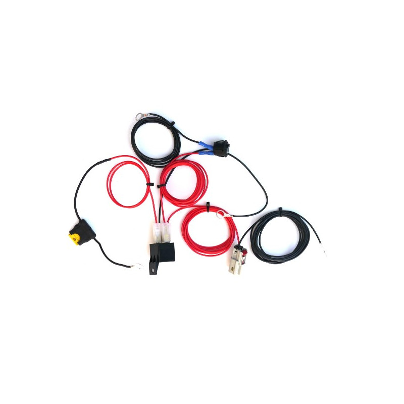 Single-lamp harness kit with switch (för ST-4, ST-8, T2-R