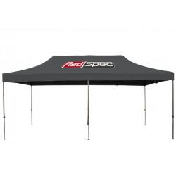 REDSPEC 6 x 3 m bilsport steel racing tält