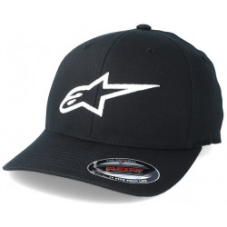 Alpinestars keps vit rally racing motorsport