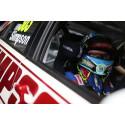 FIA Rally simpson FIA 8859-2015 bilsporthjälm för rally och racing