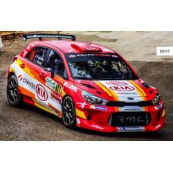 Forged I RC 8x17 raid fälg för rally och racing