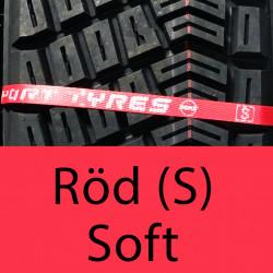 MRF ZDM3 Röd (S) Soft Gummiblandning