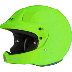 Grön med svart insida – Stilo Trophy DES Comp Plus rallyhjälm bilsport racing rally hjälm