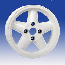 Ford GP4 – White 15 x 9.0...